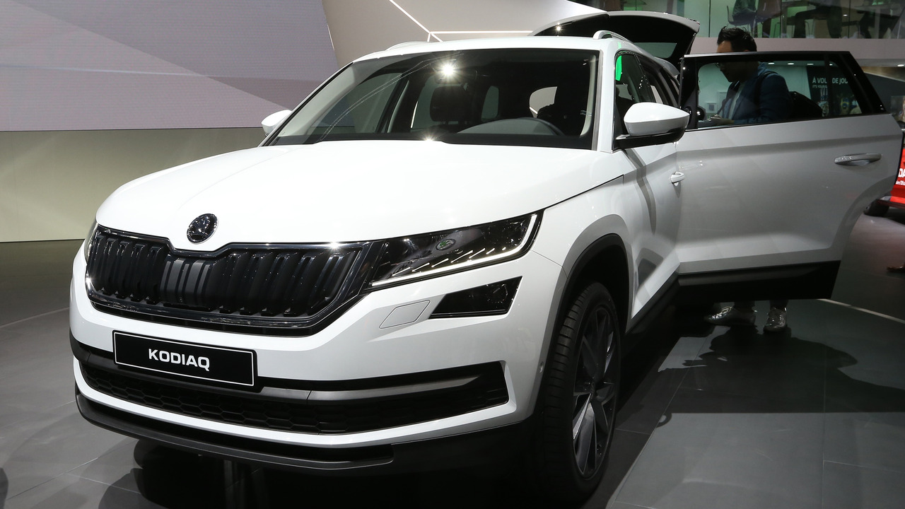 Popular Skoda Kodiaq SUV Debuts In Paris