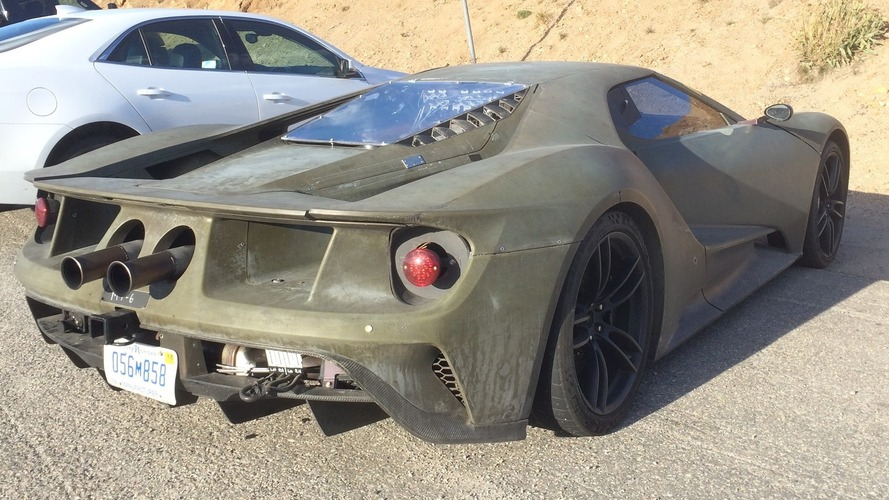 Ford GT prototype seems ready to join the army