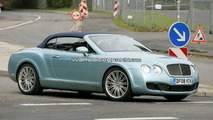 Bentley Continental GTC Speed Spied