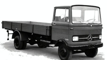Mercedes-Benz LP 608 pickup truck, 1965