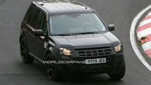 Land Rover LRX Mule Spied