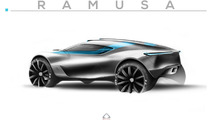 Design house proposes Bugatti-powered off-road hypercar