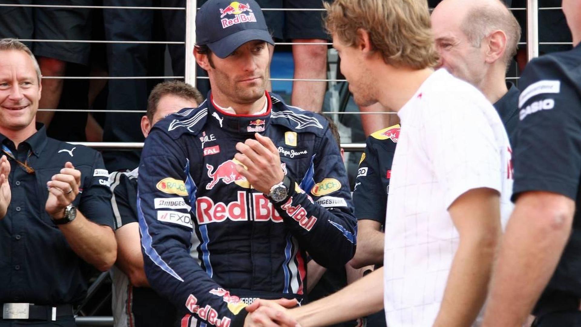Vettel 'will miss' Webber rivalry