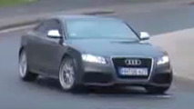 Audi RS5 Spy Video
