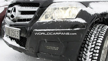 Mercedes GLK Caught with LED Daytime Running Lights