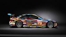BMW M3 GT2 Art Car by Jeff Koons - Side