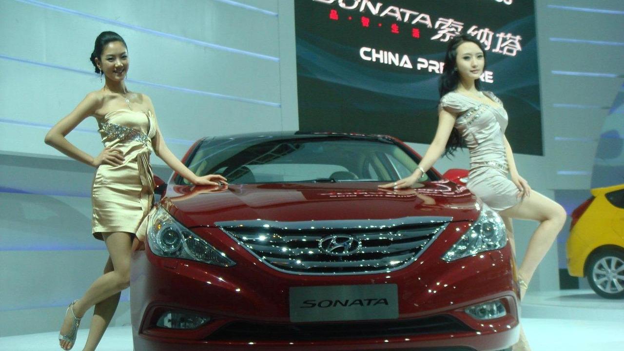 2011 Hyundai Sonata China specification 22.12.2010
