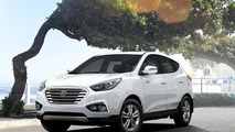 2016 Hyundai Tucson Fuel Cell