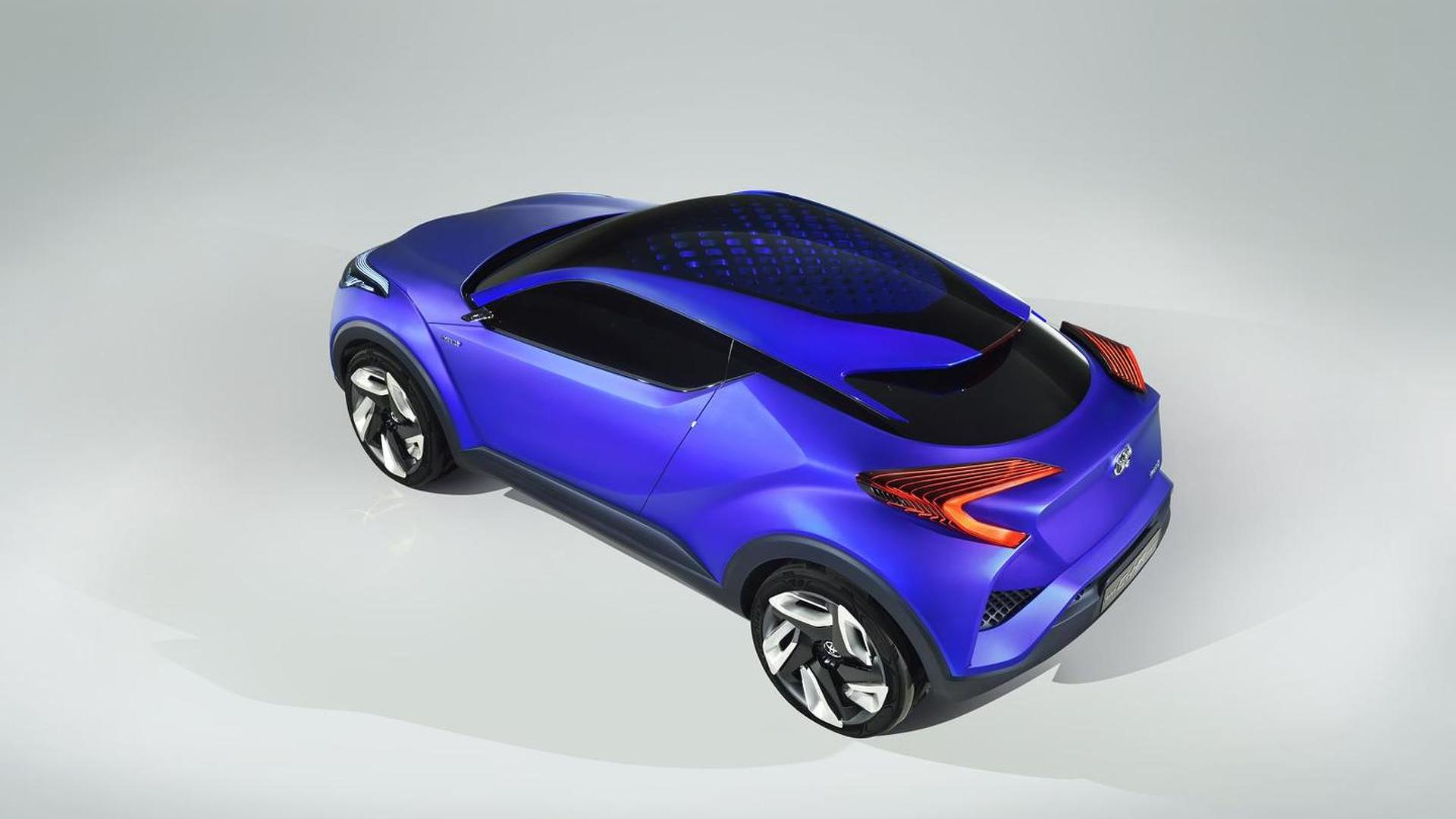 Toyota C-HR concept officially revealed ahead of Paris debut