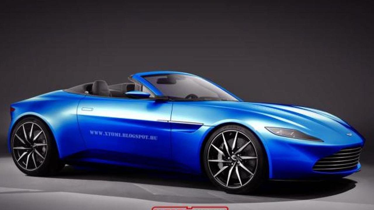 Aston Martin DB10 Volante render