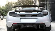 McLaren MP4 Spider by MSO gets subtle tweaks from DMC