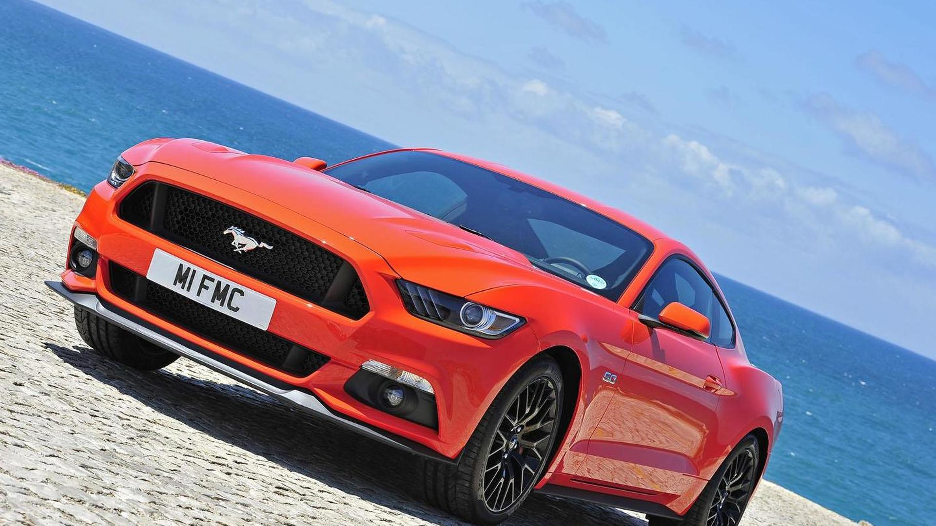 2015 Ford Mustang is a hit in Europe, company gets 500 reservations in 30 seconds