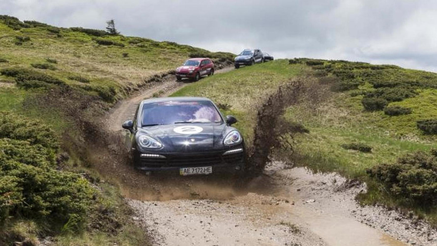 Porsche Cayenne S Diesel shows its off-road chops