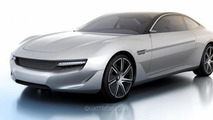 Pininfarina Cambiano concept leaked photo 27.2.2012