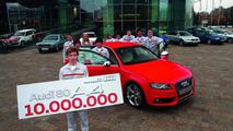 Audi celebrates ten millionth midsize car 27.10.2011