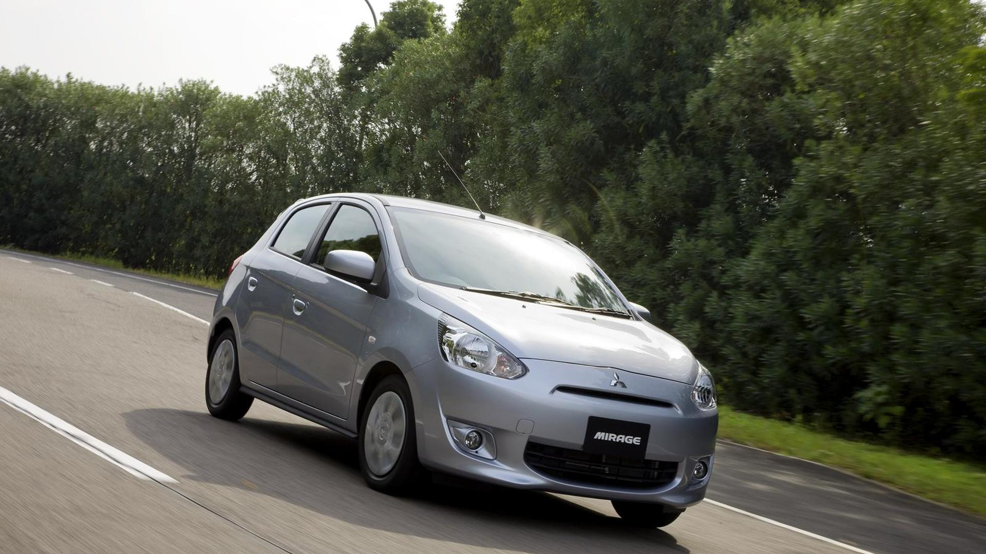 Mitsubishi Mirage headed to the U.S., will eventually be offered as an EV - report