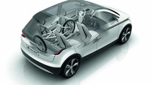 Audi A2 EV Concept sketches 02.09.2011