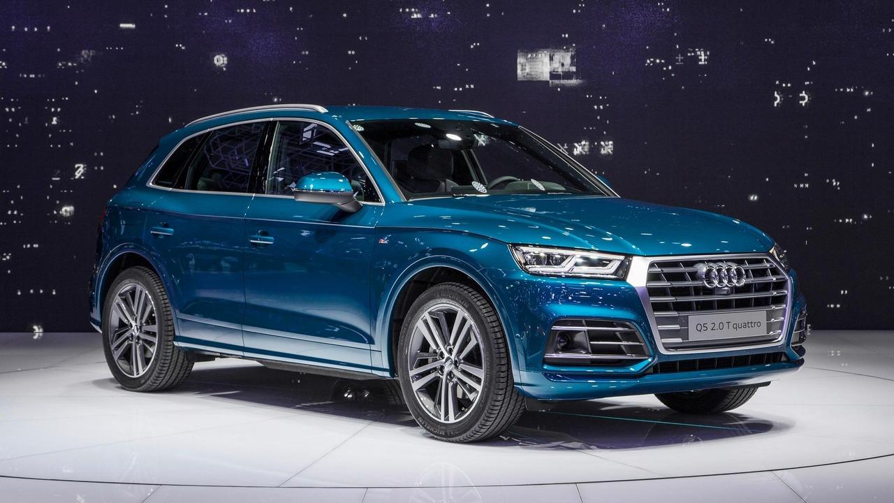 2017 Audi Q5 live at 2016 Paris Motor Show