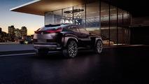 Lexus UX concept looks edgy