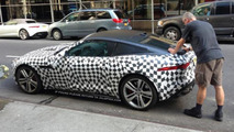 2014 Jaguar F-Type Coupe spied up close