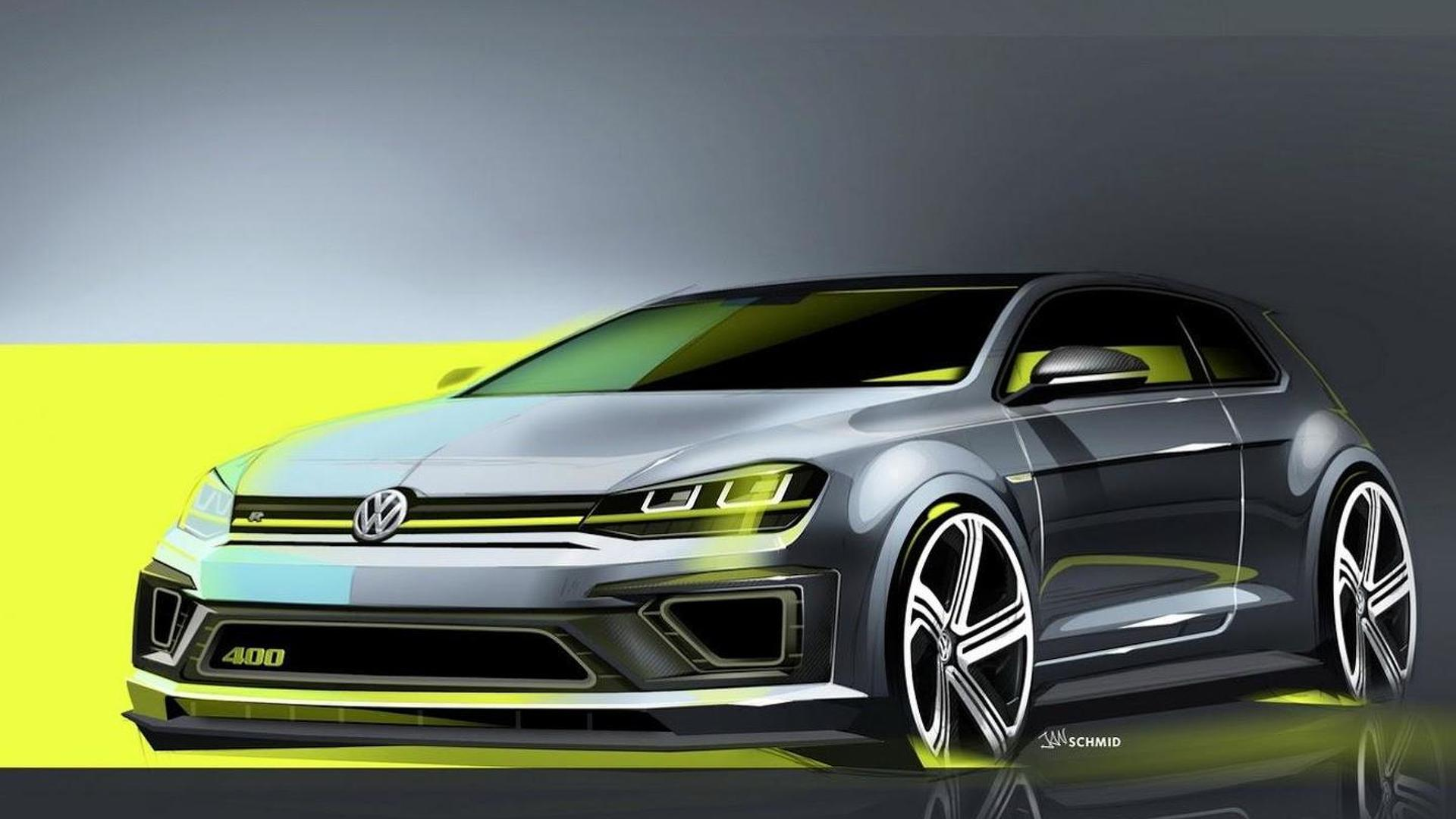 Volkswagen Golf R 400 concept heading to Beijing
