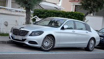 2014 Mercedes-Benz S-Class extra-long wheelbase spy photo
