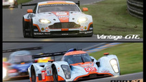 Aston Martin V8 Vantage GTE & DBR 1-2 race cars up for sale
