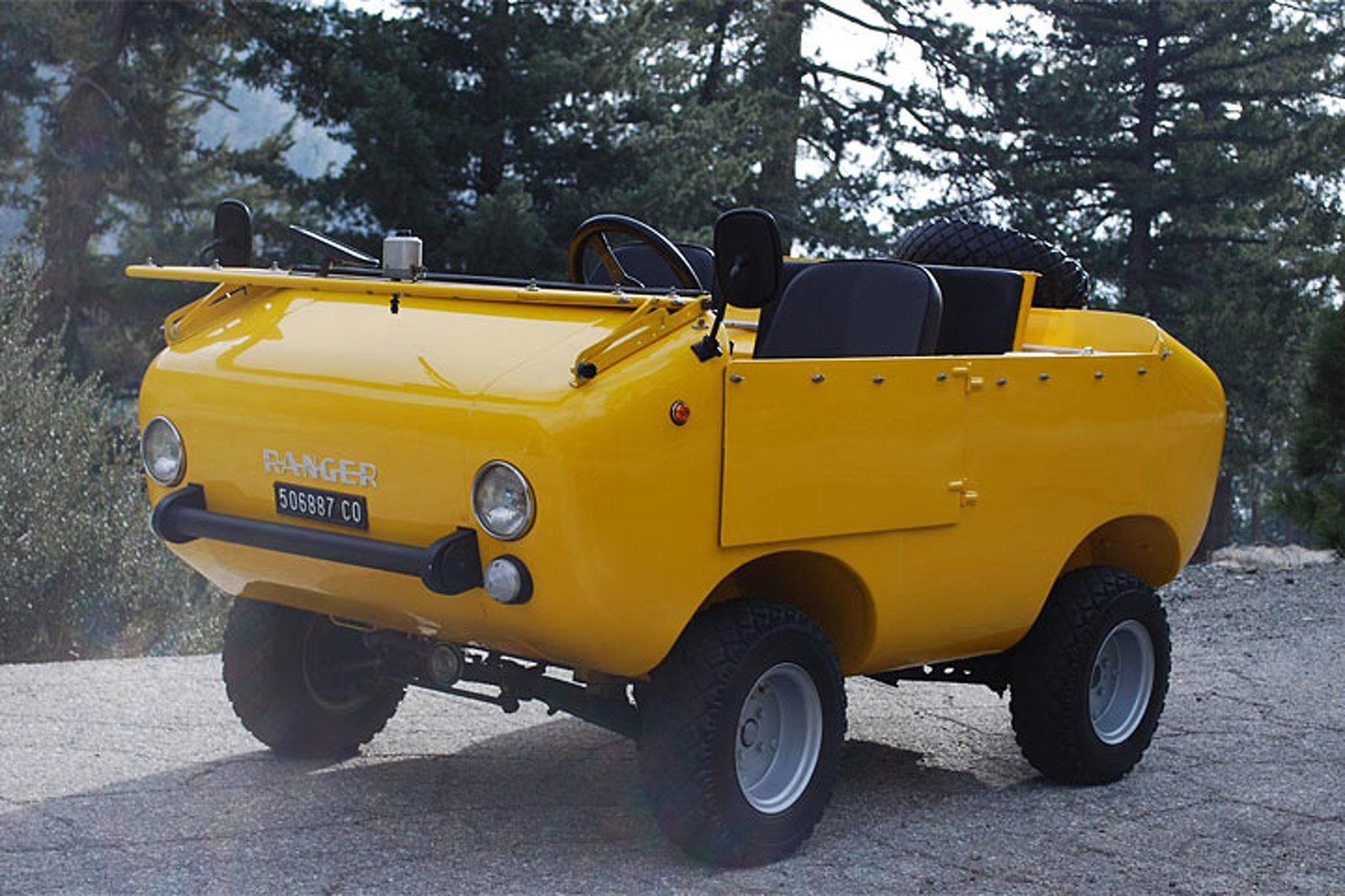eBay Find 'Ranger' Off-Roader is Pretty Much a Fiat 500 on Steroids