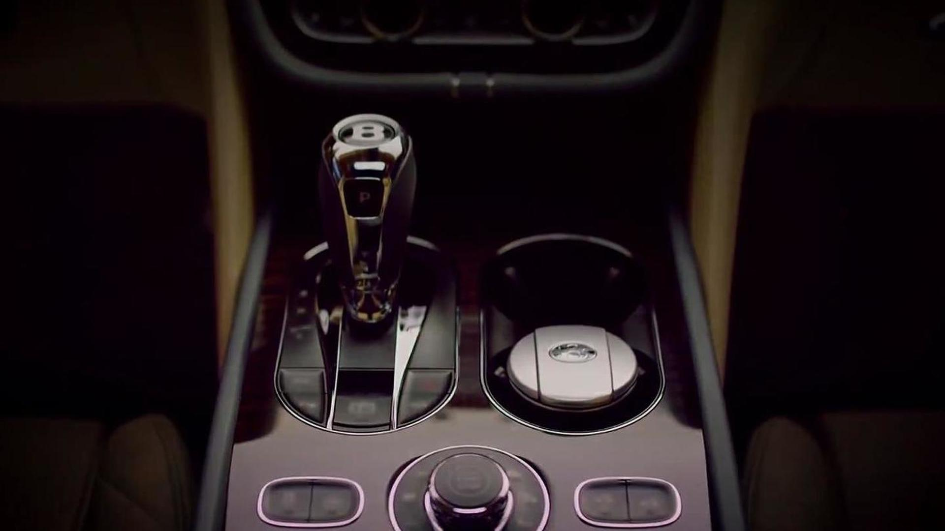 Bentley Bentayga interior cabin partially revealed in latest teaser video