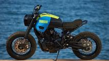 'Otokomae' custom Yamaha XSR700 a thing to behold