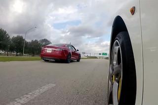 Watch this Tesla P85D Out-Accelerate a Ferrari 458