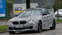2017 BMW M5 spy photos
