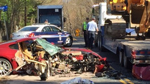 Did former prime minister crash this Ferrari 599?