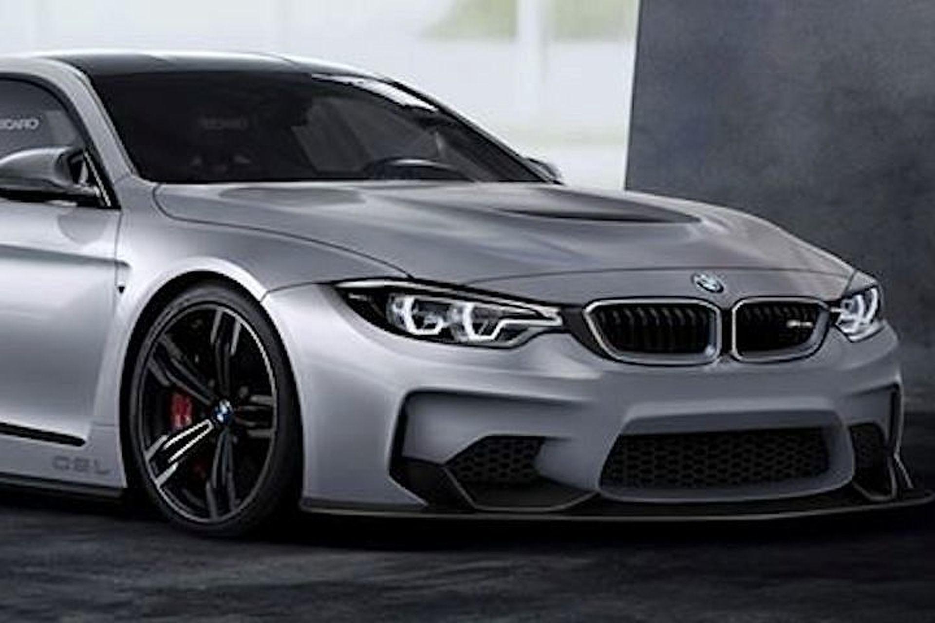 BMW M4 CSL Imagined