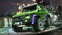 The Hulk - Mercedes G63 AMG 6×6