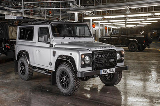 Bear Grylls Helped Build the 2 Millionth Land Rover Defender