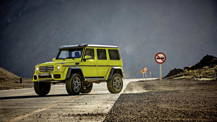 Confirmed: Mercedes G550 4x4² arrives in U.S. early next year