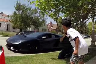 Lamborghini Dealership Crashes 7-year-old Birthday Party [video]