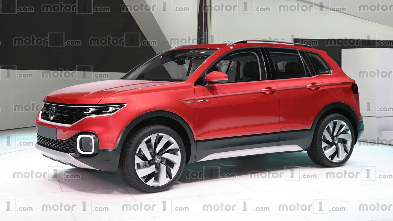 Volkswagen Polo SUV Rendering
