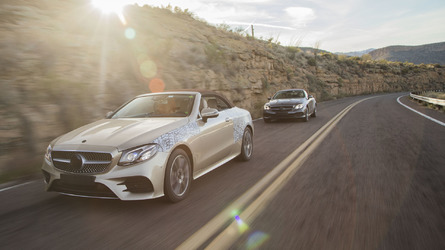 We take a ride in a 2018 Mercedes E-Class Cabriolet prototype