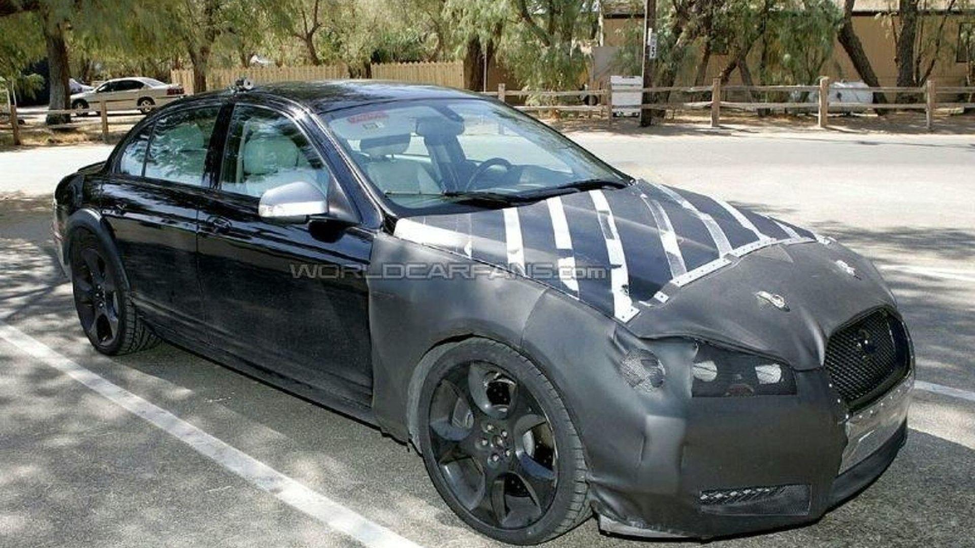 Jaguar XF-R Test Mule Spy Photos