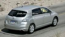 Toyota Mark X Zio hydrogen fuel cell vehicle Spied