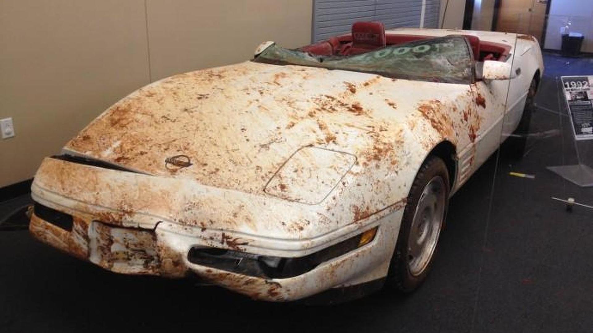 National Corvette Museum retrieved first three damaged Corvettes