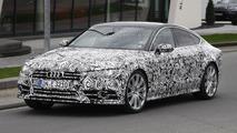 2015 Audi S7 facelift spy photo