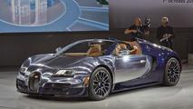 Bugatti Veyron Grand Sport Vitesse Ettore Bugatti special edition at Volkswagen's Paris Motor Show preview evening