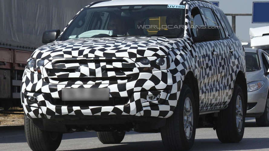 2015 Ford Everest spied showing new details