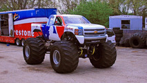 MLB Bigfoot monster truck as Chevrolet 08.07.2010