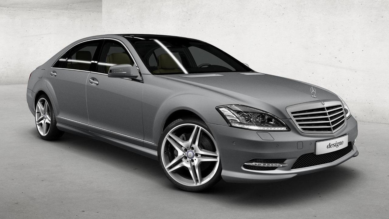 Mercedes-Benz S-Class exterior - Magno Allanite Grey matte paint 06.07.2010