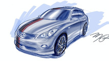 Infiniti Makes First Official Debut at SEMA 2008
