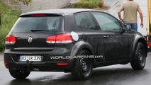 VW BlueSport PQ35 coupe test mule spy photo